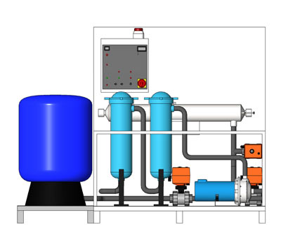 RW UV 40 Water Reclamation System