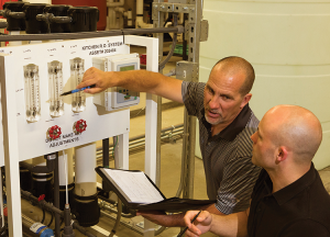 Water Control Difference: Commissioning