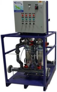ACF-75-25 cleaning filter to remove suspended solids and sediment